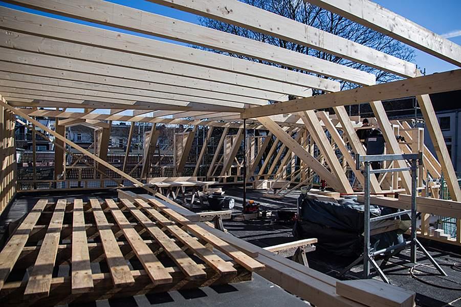 FristD-Bau: Neubau 2 Wohneinheiten in Hamburg